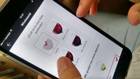 Wineissocial crea la primera aplicació que permet descobrir el perfil de tast de l'usuari