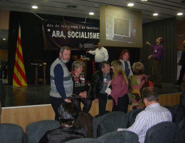 'Ara, socialisme' arrenca a Sant Cugat reivindicant catalanisme, esquerra i transparència interna