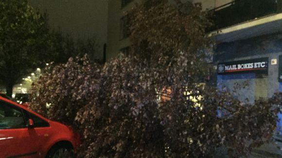 L'episodi de pluja deixa a Sant Cugat 102,4 litres per metre quadrat i algunes incidències