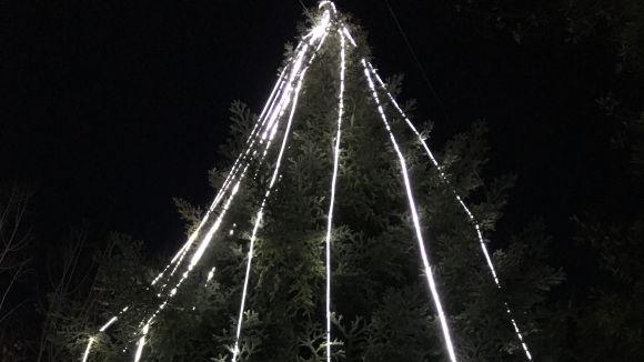 Encesa dels llums de Nadal a Valldoreix