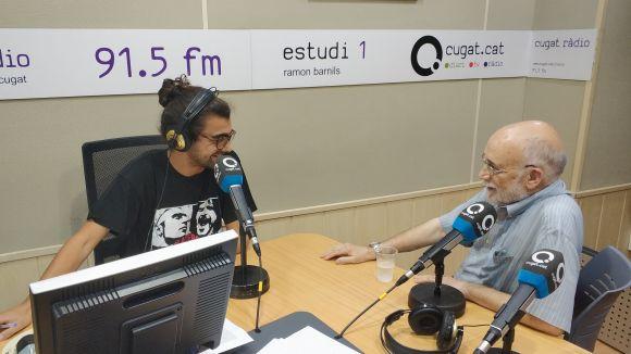 Arcadi Oliveres, Marta Cascales i Jordi Gonzalo, a la tertúlia del magazín 'Connectats a l'estiu'
