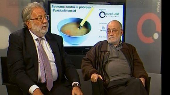 Arcadi Oliveres i Jordi Piella analitzen l'origen de la crisi econòmica