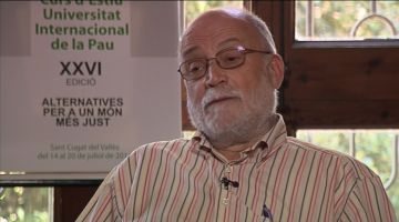 Oliveres (Unipau): 'Tenim alternatives perquè el mon canviï i cal que ho faci ràpidament'