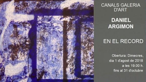 Obertura d'exposició: Daniel Argimon
