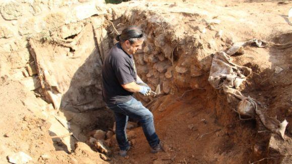Les intervencions arqueològiques al Castell de Canals, al descobert