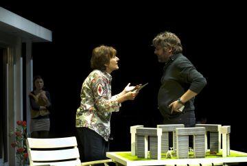 L'actriu santcugatenca Marta Angelat, al Teatre Lliure amb 'L'arquitecte'