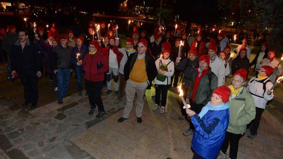 El Camí de Justícia reviu aquest vespre l'itinerari de Berenguer de Saltells per assassinar l'Abat Biure