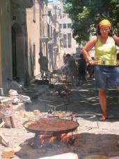 L'Arrossada Popular és un dels actes destacats de diumenge de Festa Major
