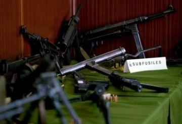 La Guàrdia Civil deté un santcugatenc amb un arsenal d'armes al seu domicili