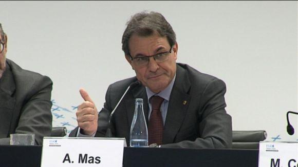 Artur Mas destaca el protagonisme d'Esade en l'economia catalana