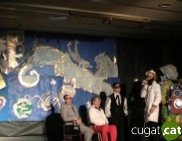 Els nois i noies d'ASDI aconsegueixen omplir el CPA amb una producció teatral pròpia