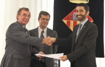 Asepeyo premia la baixa sinistralitat laboral de l'Ajuntament registrada durant el 2009