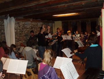 Imatge de l'assaig de les Orquestrades de l'any passat