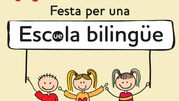 L'Assemblea per l'Escola Bilingüe farà una festa diumenge a la plaça d'Octavià