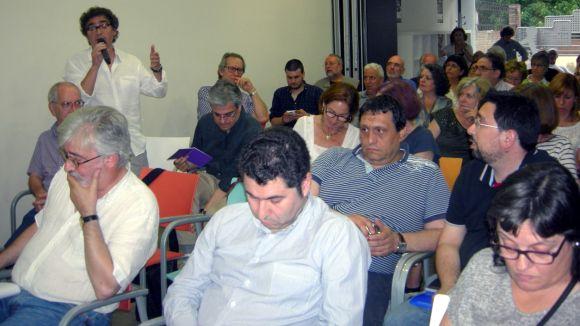 L'assemblea d'esquerres tempteja Sant Cugat i proposa nova convocatòria