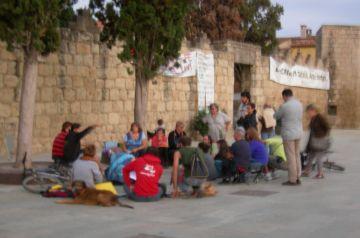 La Guitza recorda el 15M i les acampades a Sant Cugat amb una projecció de fotos