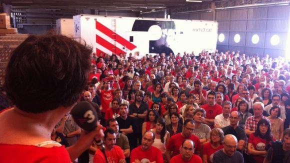 El Grup Barnils, en contra de l'ERO a la Corporació de Mitjans Audiovisuals