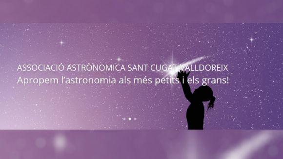 L'Associació Astronòmica Sant Cugat-Valldoreix proposa noves activitats de cara al setembre
