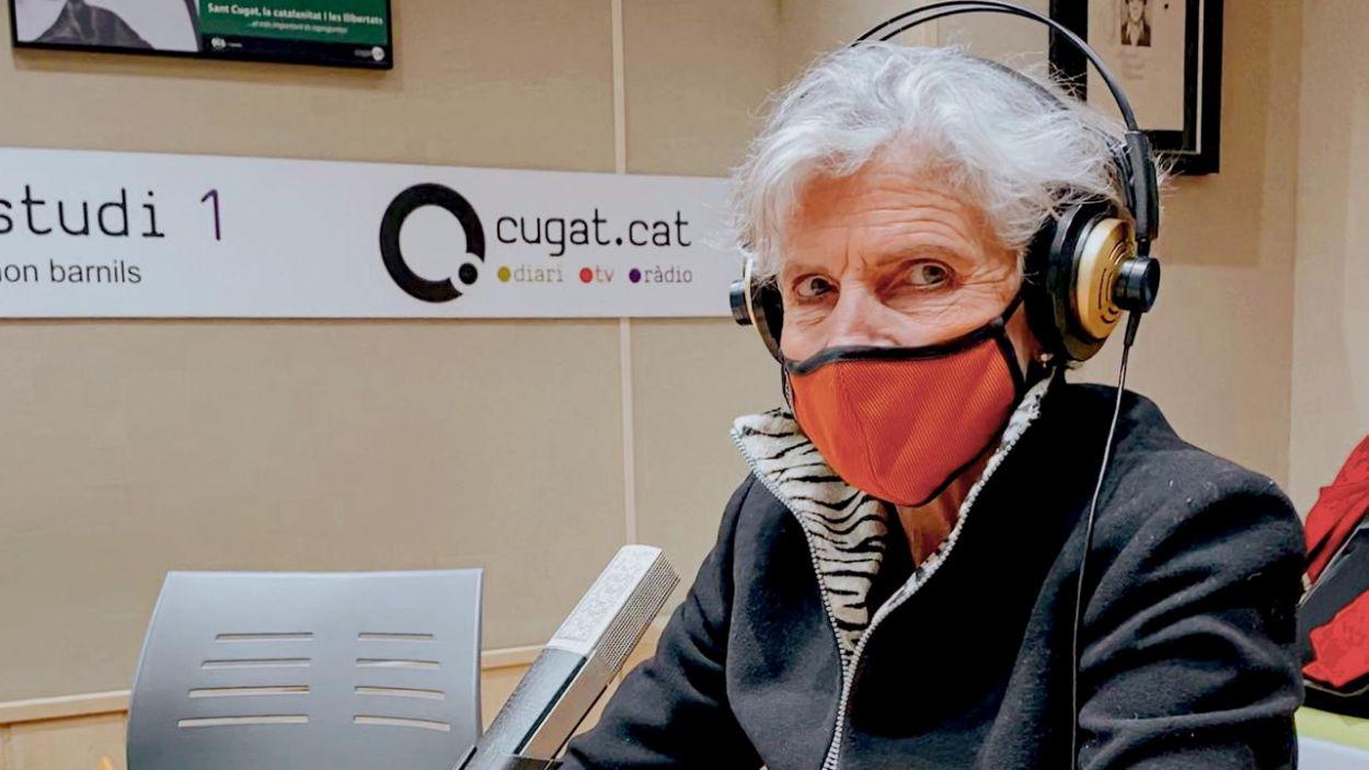Assun Reyes, portaveu de Marea Blanca Sant Cugat / Foto: Cugat Mèdia
