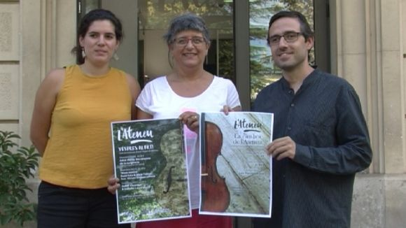 La música pren protagonisme a l'Ateneu un any després del trasllat a la Casa Jaumandreu