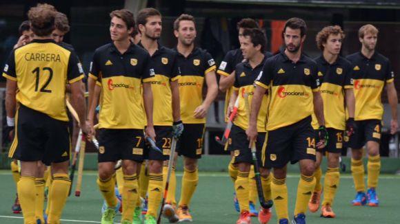 Derbi terrassenc en el primera semifinal de la Copa del Rei entre Atlètic Terrassa i Club Egara