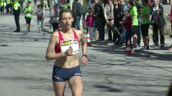 Inna Lebedieva guanya les 5 Milles Femenines de Valldoreix