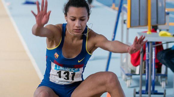 Atletes santcugatencs destaquen a l'Estatal júnior de pista coberta a València