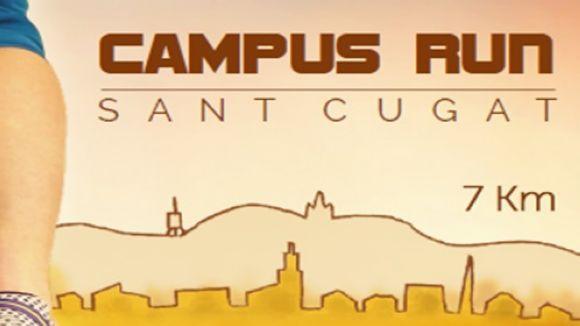 La cursa solidària Campus Run Sant Cugat se celebrarà el 30 d'abril