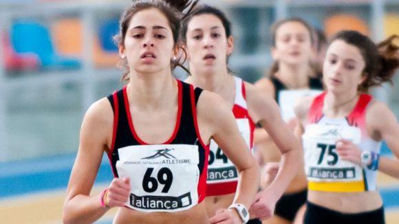 La secció d'atletisme del Muntanyenc aspira a guanyar tres metalls a l'Estatal