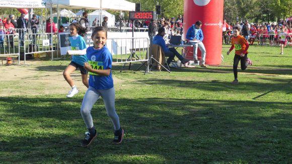 La 20a edició del Cros Ciutat de Sant Cugat omple d'esport el parc de la Pollancreda aquest diumenge