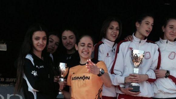 Bon paper del Muntanyenc Sant Cugat al Campionat de Catalunya de Cros