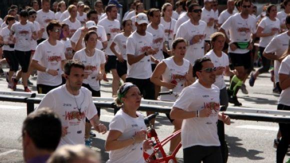 Mor un veí de Sant Cugat a la Cursa Bombers de Barcelona
