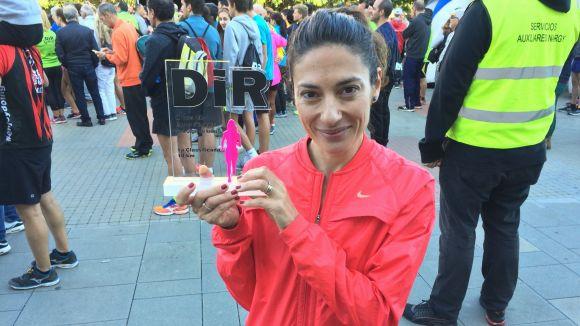 Elisa Melilli, amb el títol de guanyadora