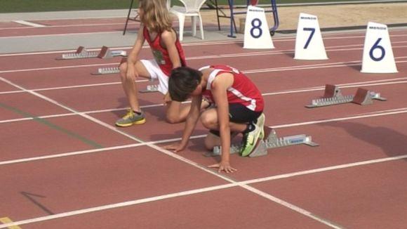 Més de 250 atletes participen a la Diada de la velocitat del CM Sant Cugat