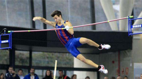 Dídac Salas amb el FC Barcelona