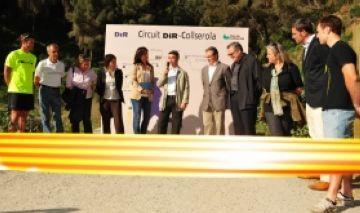 Nou quilòmetres de circuit de running al parc natural de Collserola