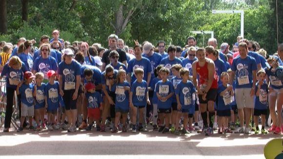 La Family Run reuneix més de 500 atletes al Parc Central en la seva 1a edició