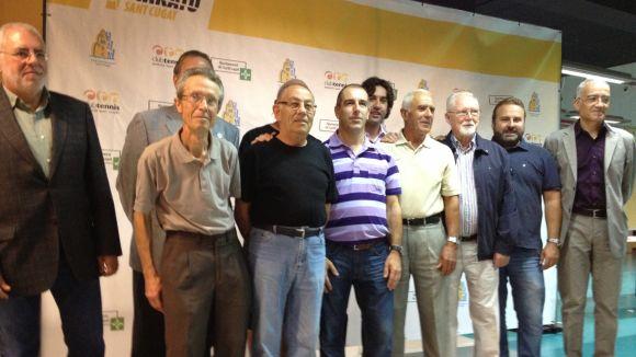 La celebració dels 30 anys de la Mitja aplega gran part dels seus promotors