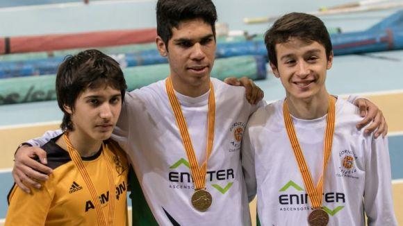 Gabriel Ballester, subcampió de Catalunya juvenil de 3.000 marxa