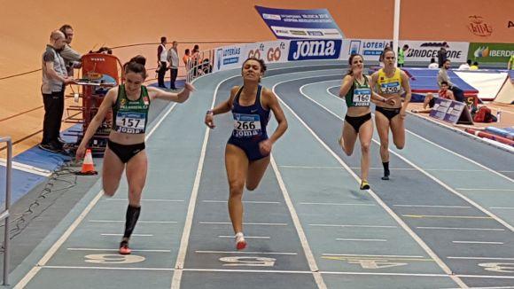 Jael Bestué aconsegueix una medalla de plata en 200 metres al Campionat d'Espanya
