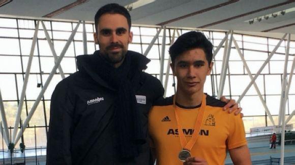 El Club Muntanyenc suma dues medalles al Català cadet d'atletisme