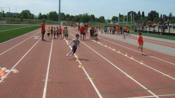 L'atletisme i el rugbi criden l'atenció dels més joves a la Guinardera