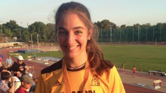 Laia González aconsegueix una medalla de bronze al Campionat de Catalunya