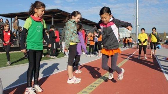 L'OMET dedica la 3a jornada poliesportiva del curs a l'atletisme