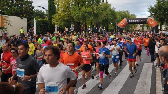 La Mitja Marató d'aquest diumenge tallarà el trànsit a diversos carrers de Sant Cugat