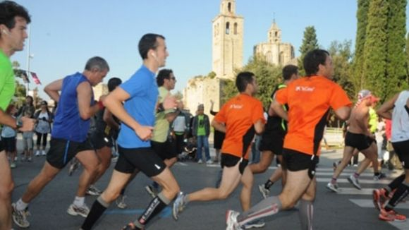 Talls de trànsit per la Mitja Marató