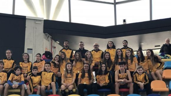 El Club Muntanyenc Sant Cugat guanya el Campionat de Catalunya sub 16 d'atletisme