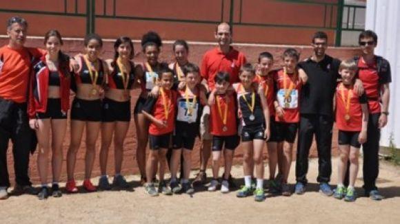 El Muntanyenc assoleix quatre medalles al Campionat de Catalunya de relleus