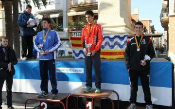Nil Rodés, medalla de bronze juvenil al campionat de Catalunya de marxa
