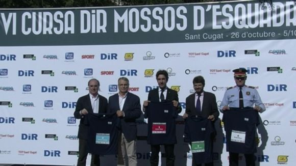 La Cursa DiR-Mossos d'Esquadra s'apropa als més petits en la seva 6a edició